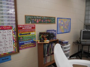 Academic Room Display 2
